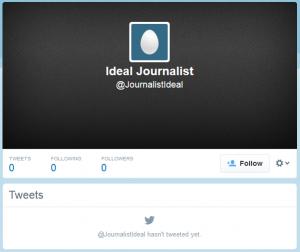 Ideal Journalist