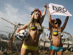 Femen, Euro 2012