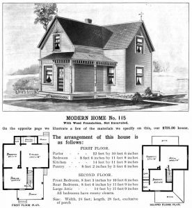 Modern Home No. 115, Sears