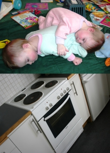 Babies, Stove