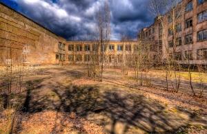 Pripyat Schoolyard