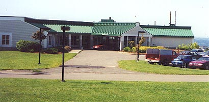 The new Souris Hospital (where the author's aunt works) - Photo from town website